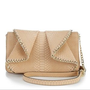 Gianni Bini crossbody purse. Cream